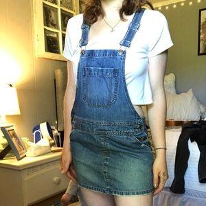 Hollister Mini Dress Overalls